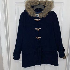Old Navy Hooded Toggle Pea Coat Size XS